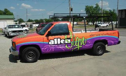 Allen Sign Vehicle Wrap